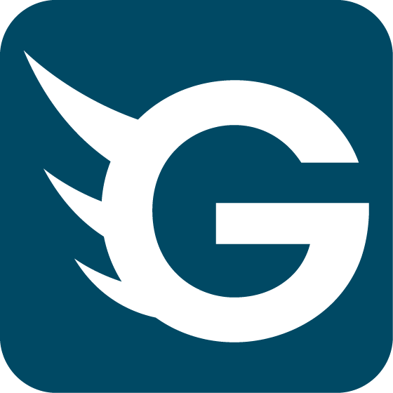 GoGetFunding Icon: Blue PNG