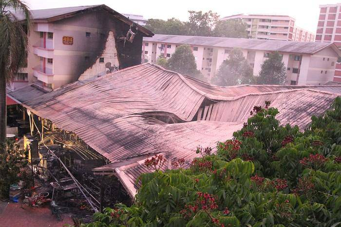 Help 51 Victim stallholders in Jurong West fire incident | Charity