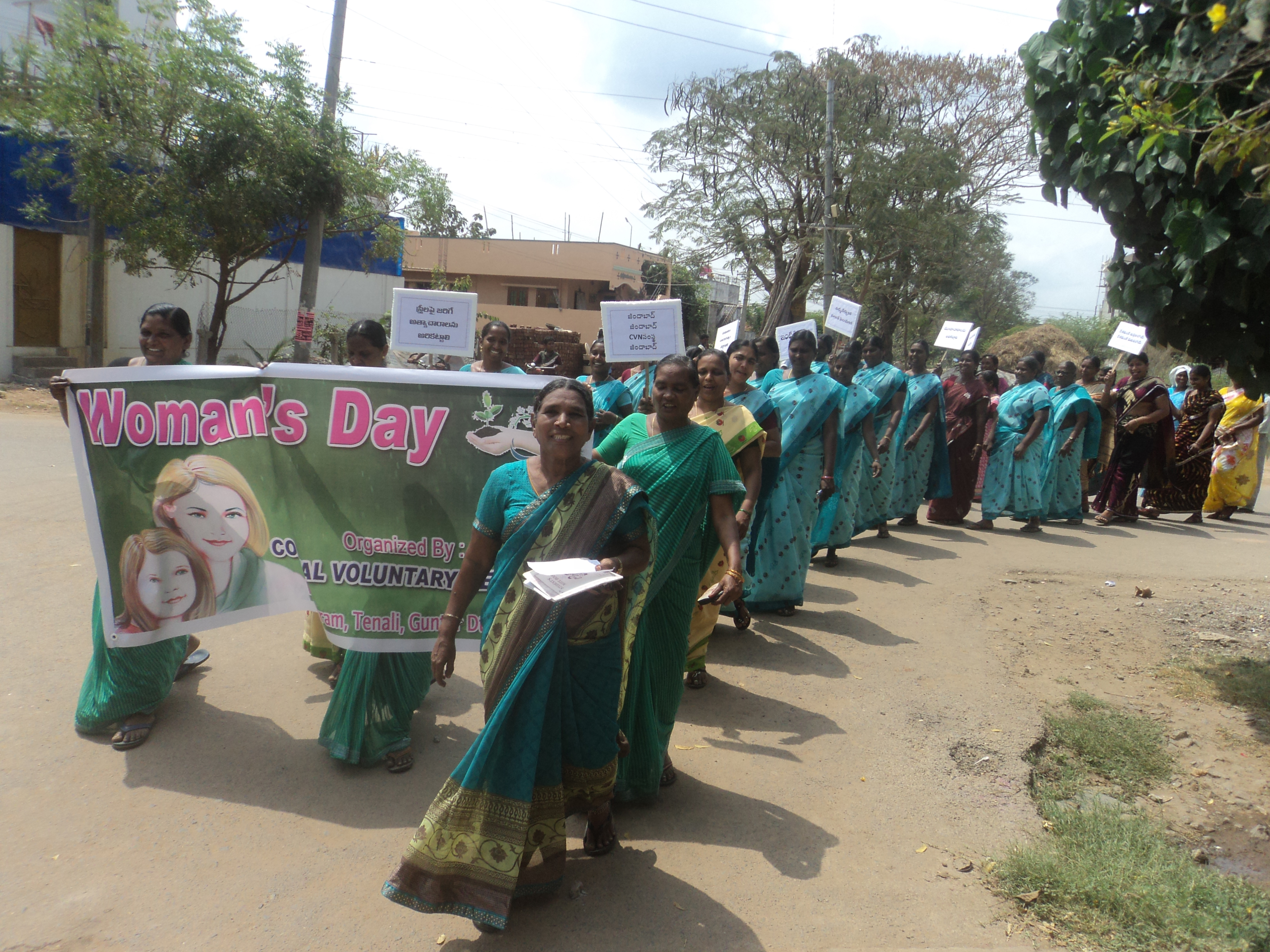 Cancer Awareness, and Personal Hygienic Campaign Rally