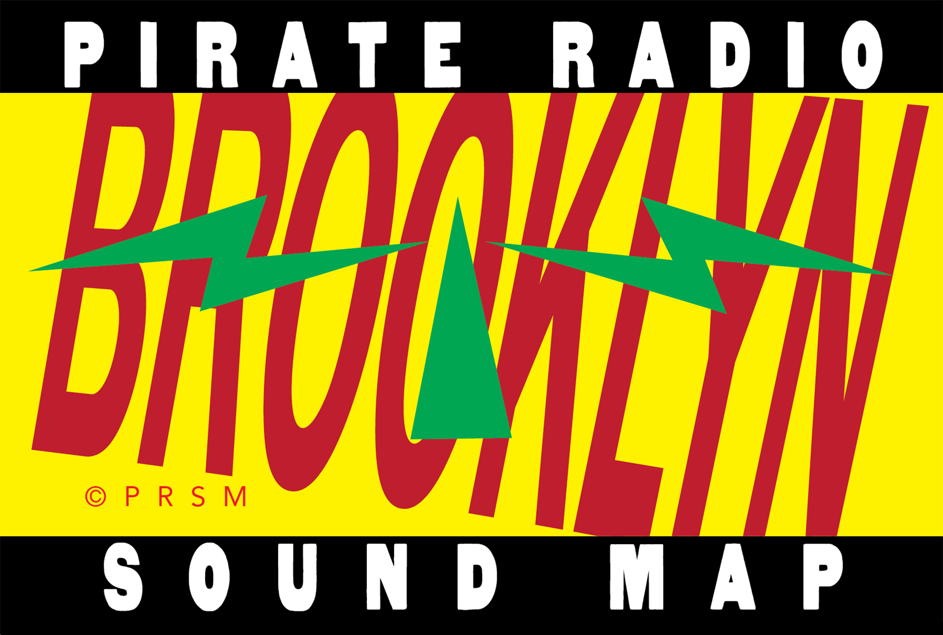 The Brooklyn Pirate Radio Sound Map | Creative Keep-it-All