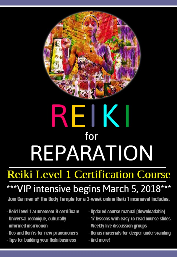 Reiki for Reparation