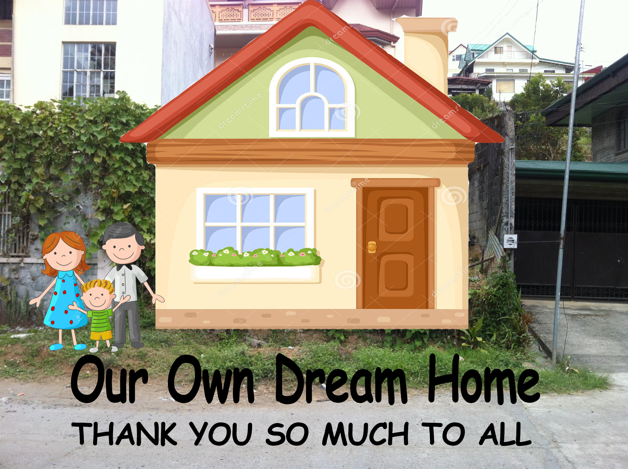 Help Build Our Dream Home