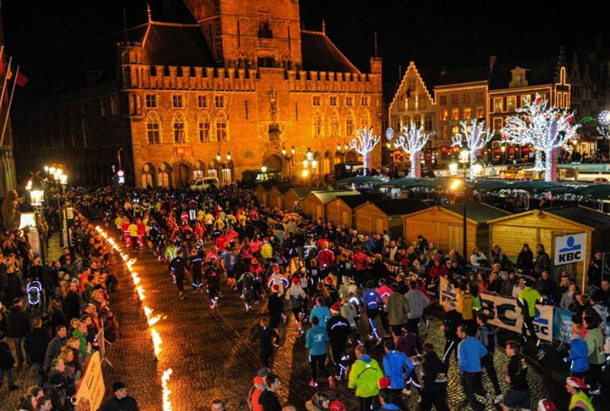 Bruges Christmas.College Of Europe Run For Charity Bruges Christmas Run