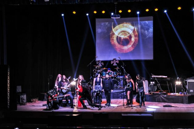 Vivaldi Metal Project - Electric Italian Premiere, Live in Avezzano, 2018 (Italy)