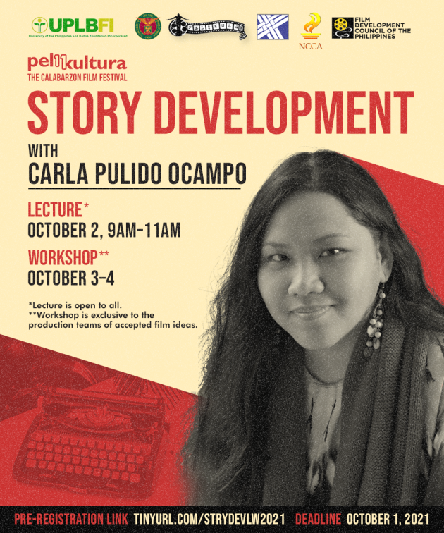 Story Development Lecture & Workshop with Carla Pulido Ocampo