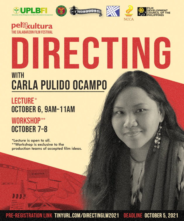 Directing Lecture & Workshop with Carla Pulido Ocampo