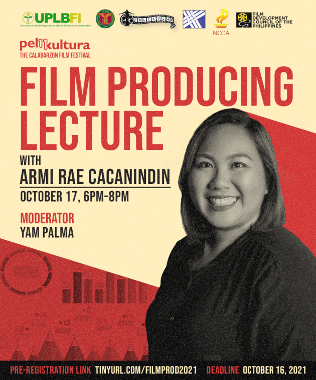 Film Producing Lecture with Armi Rae Cacanindin
