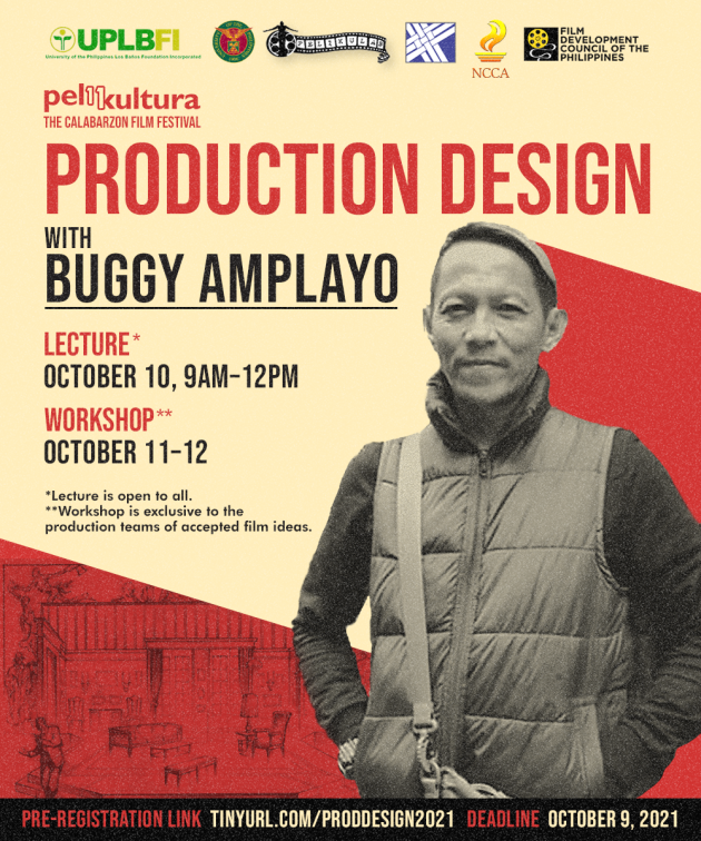 Production Design Lecture and Workshop with Buggy Amplayo